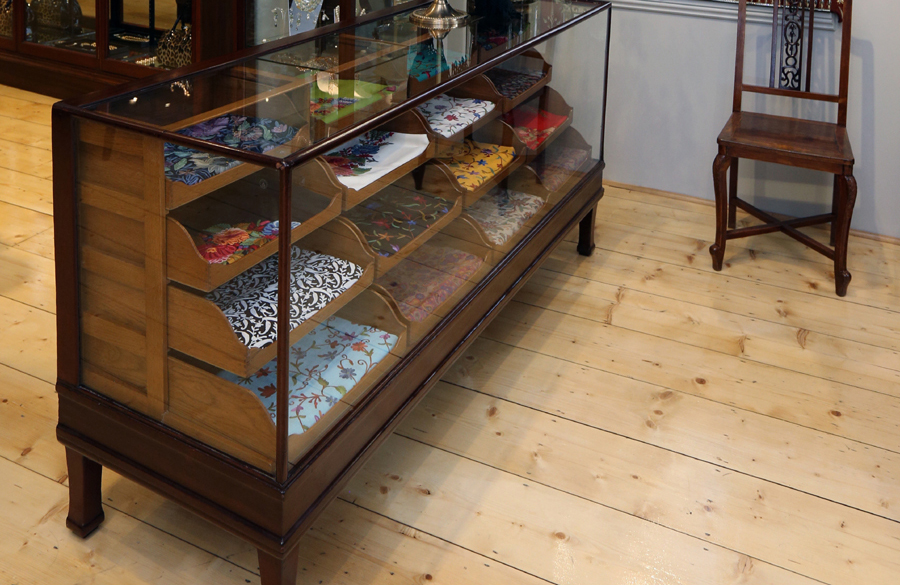 Antique Shop Display Counters
