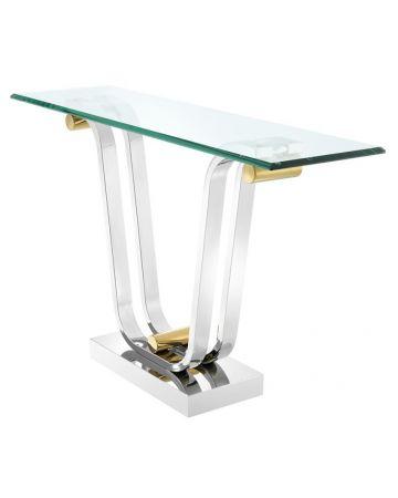 Eichholtz Julien Nickel Console Table