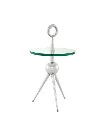 Eichholtz Alba Side Table - Nickel