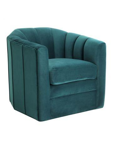 Eichholtz Delancey Swivel Chair - Savona