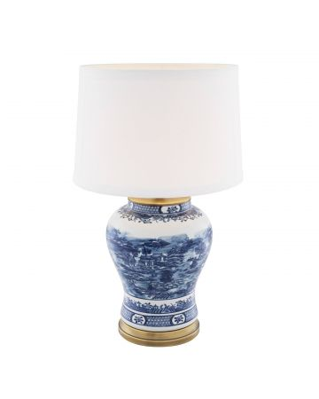 Eichholtz Chinese Blue Table Lamp