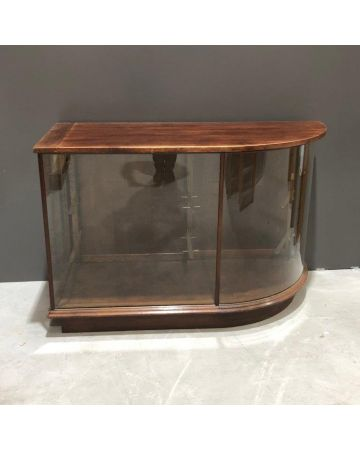Glass Curved Counter