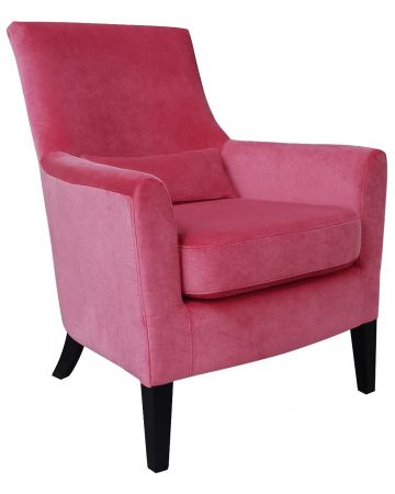 Loulou Arm Chair - Coral