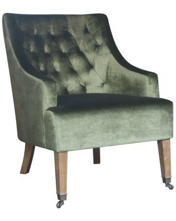 Westport Arm Chair - Olive