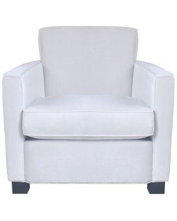 Savoy Arm Chair - White