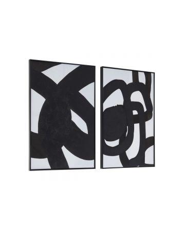 Bilbao Abstract Artwork - Set of 2