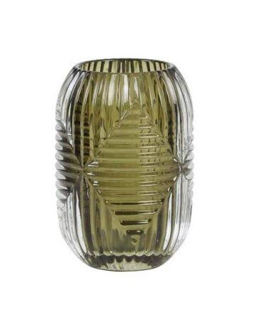 Alto Glass Votive - Olive
