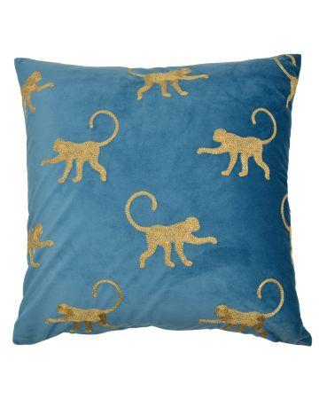 Safari Monkey Cushion