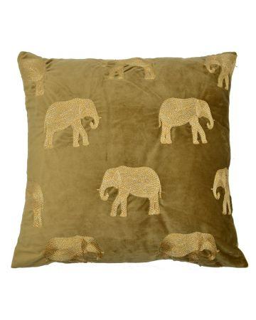 Safari Elephant Cushion