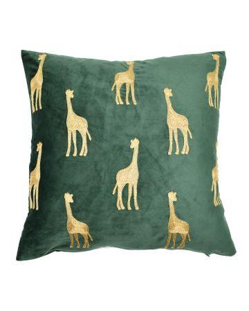 Safari Giraffe Cushion