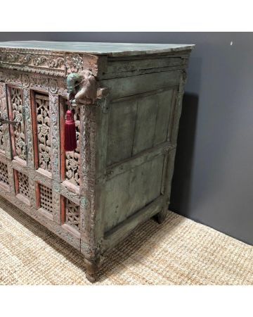 Antique Indian Wedding Chest