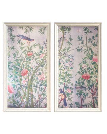 Walzin Chinoiserie II Set of 2 Prints