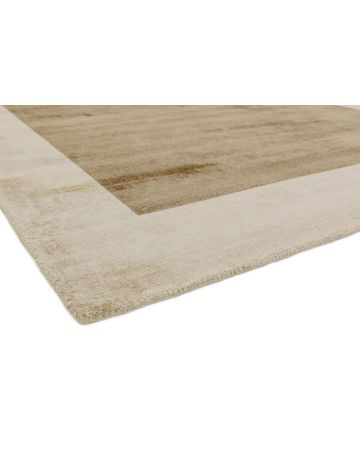 Kinver Runner With Border - Champagne & Putty