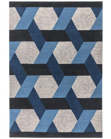 Apex Rug - Blue