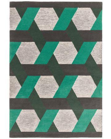 Apex Rug - Green