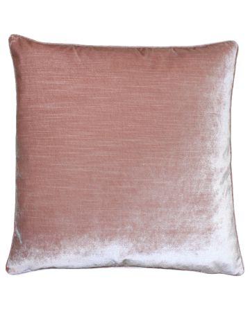 Beaufort Velvet Cushion - Blush