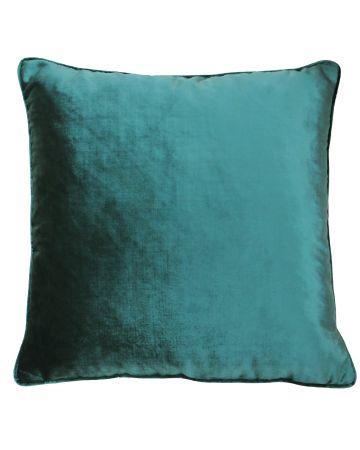 Beaufort Velvet Cushion - Jadite