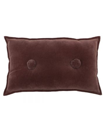 Bobble Cushion - Rock Rose