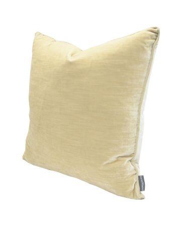 Luxury Velvet Cushion - Pearl
