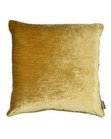 Luxury Velvet Cushion - Gold