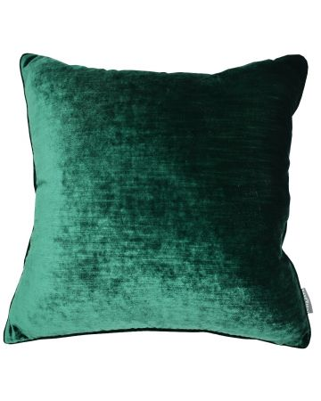 Luxury Velvet Cushion - Emerald