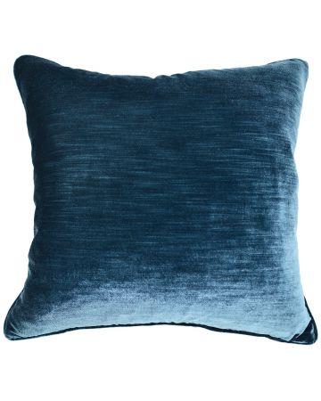 Luxury Velvet Cushion - Petrol