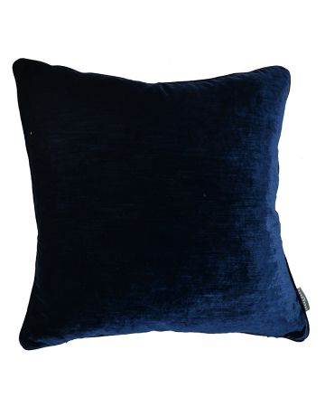 Luxury velvet Cushion - Navy
