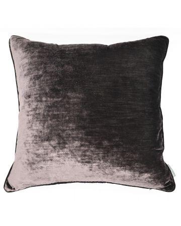 Luxury Velvet Cushion - Fig
