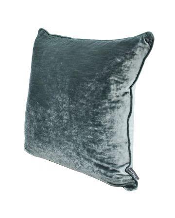 Luxury Velvet Cushion - Aquamarine