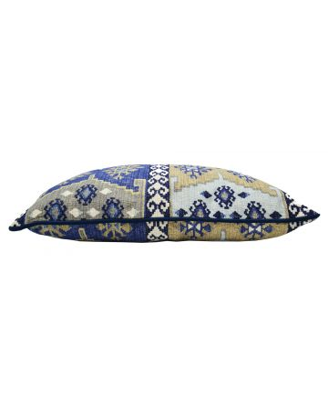 Anthropology Rectangular Cushion - Denim