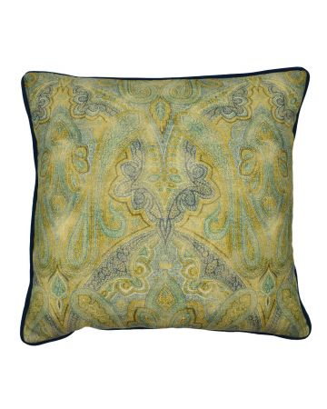 Rousham Chartreuse Square Cushion