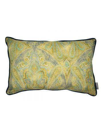 Rousham Chartreuse Rectangular Cushion