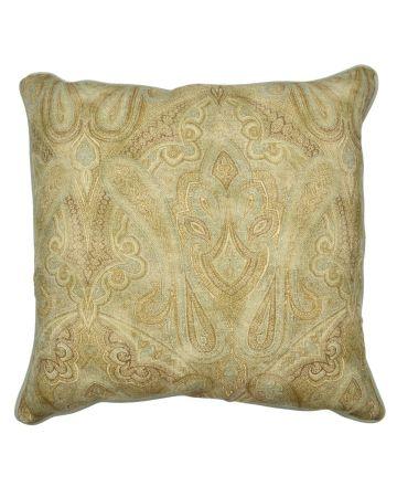 Warwick 'Rousham' Paisley Square Cushion - Classic