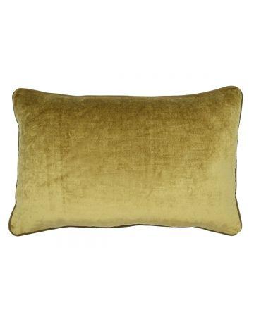 St. Moritz Velvet Rectangular Cushion - Camel