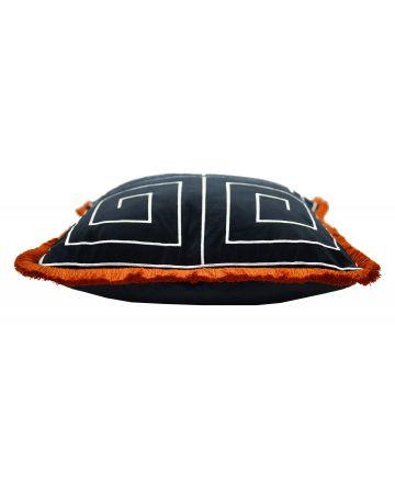 Greek Key Cushion