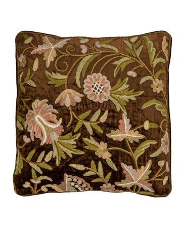 Ruffle Peony Cushion