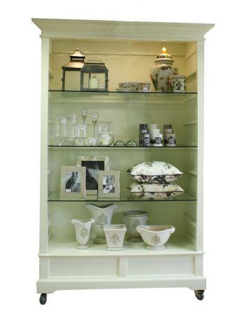 Closed Back Display Unit - Cream