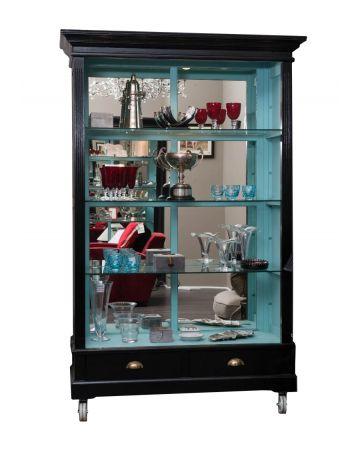 Display Unit - Black & Turquoise