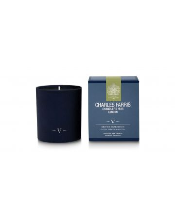 Charles Farris British Expedition Scented Candle - Cloves, Tobacco & Mint Tea