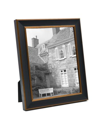 Black & Gold Photo Frame - 8x10