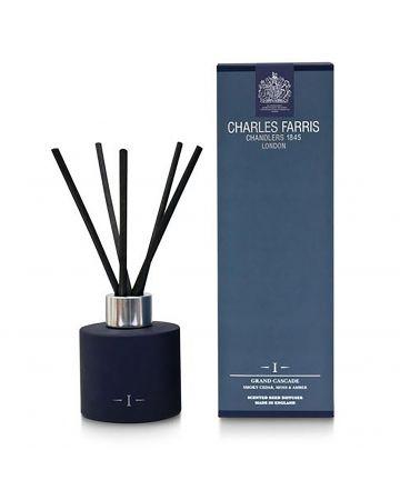 Charles Farris Grand Cascade Reed Diffuser - Smoky Cedar, Moss & Amber