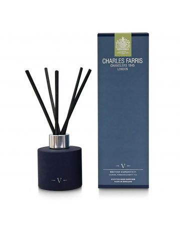 Charles Farris British Expedition Reed Diffuser - Cloves, Tobacco & Mint Tea