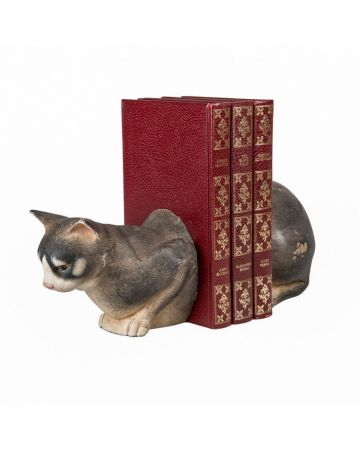 Jasmin Cat Bookend Set
