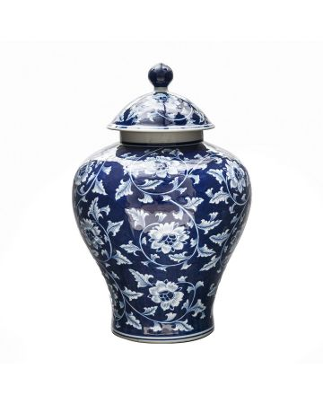Grand Tour Large Temple Jar
