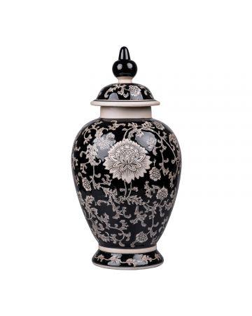 Mandalay Medium Jar - Black
