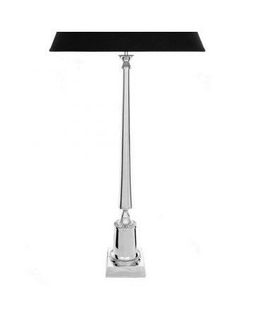 Mayfair Nickel Lamp Base