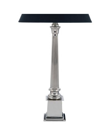 Rushton Nickel Lamp Base