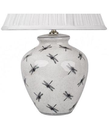 Dragonfly Ceramic Lamp Base