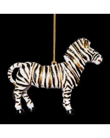 Zebra Hanging Ornament
