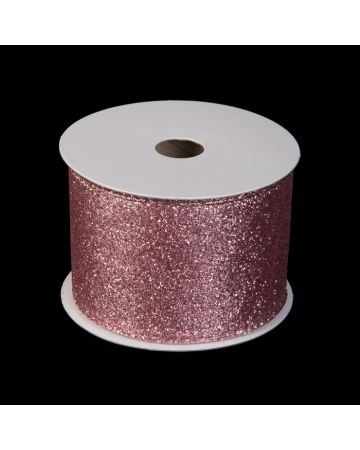 Ribbon - Light Purple Glitter